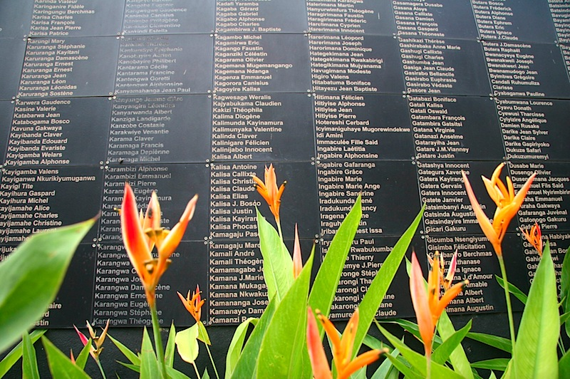 Rwandan Memorial for the ones who were killed.