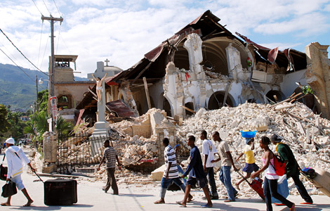 Photo Essay: Haiti after the Quake | Brown Human Rights Report